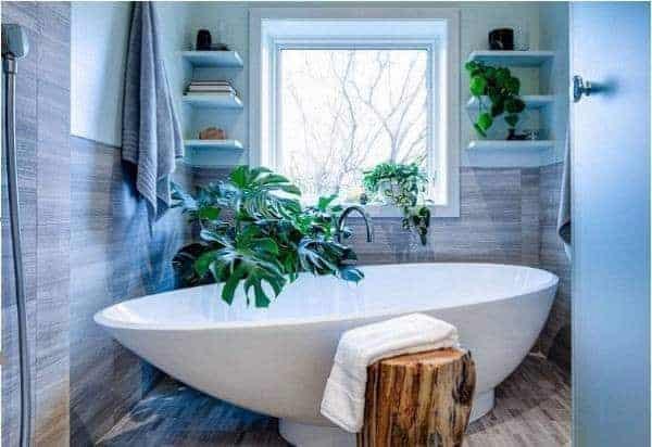 Kệ trang trí nhà tắm tiết kiệm không gian | SMLIFE