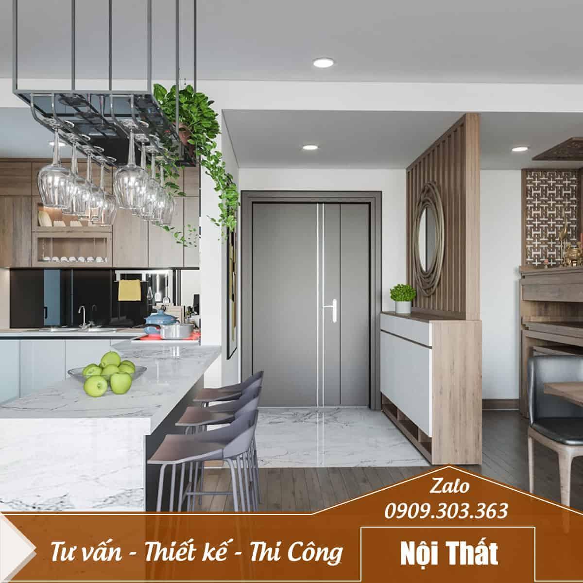 Thiết kế thi công nội thất căn hộ, nhà ở, quán cafe, shop bán hàng