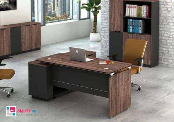 Còn chiếc bàn làm việc văn phòng cao cấp đây chắc có lẽ là sự lựa chọn cho văn phòng sếp