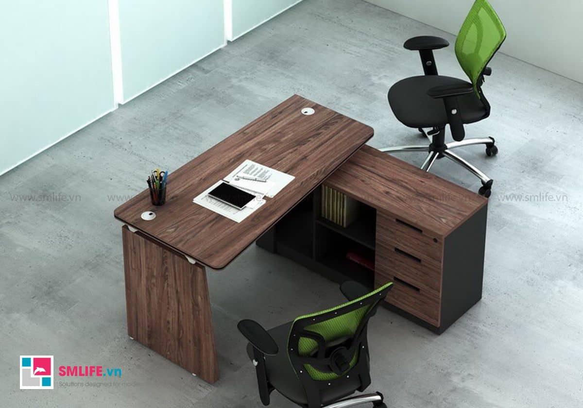 Bàn làm việc dạng hình thang tạo nên sự phá cách trong văn phòng của bạn