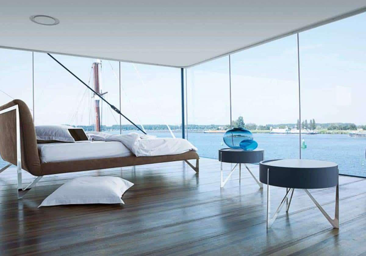 phòng ngủ đẹp bất chấp mọi không gian và thời gian