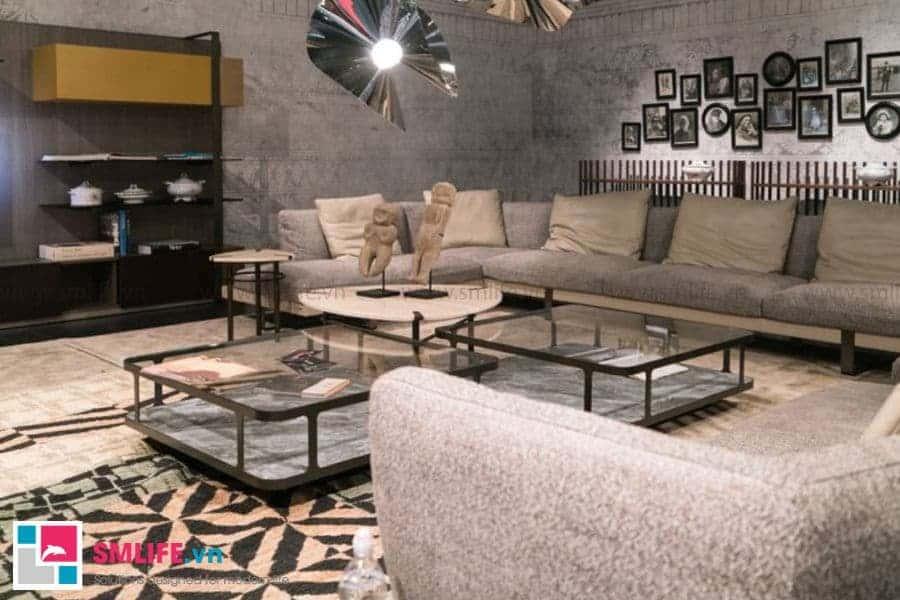 Một hệ bàn trà sofa hiện đại cho căn phòng thêm nổi bật và bừng sáng