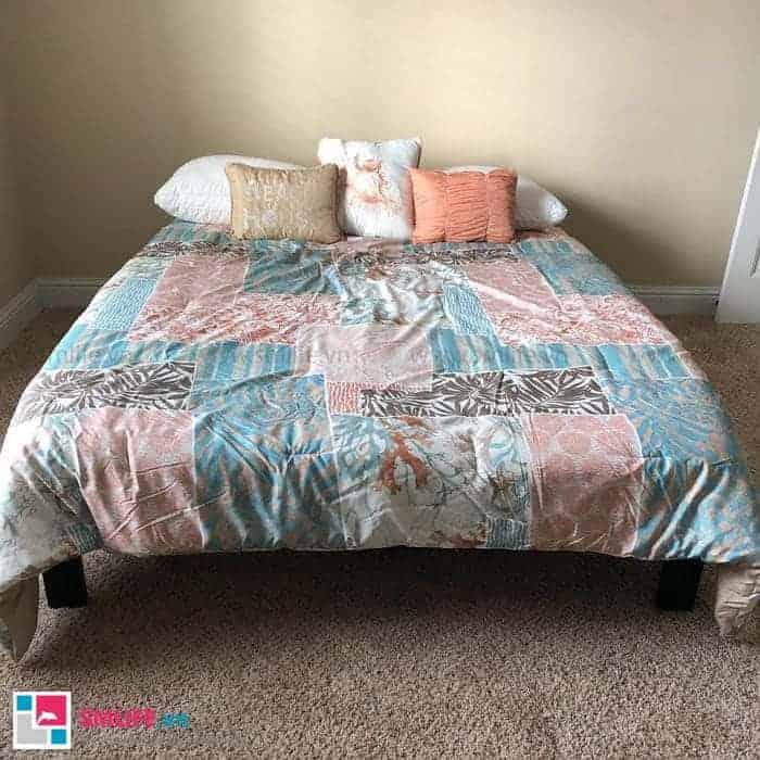 Giường ngủ họa tiết độc đáo cho căn phòng