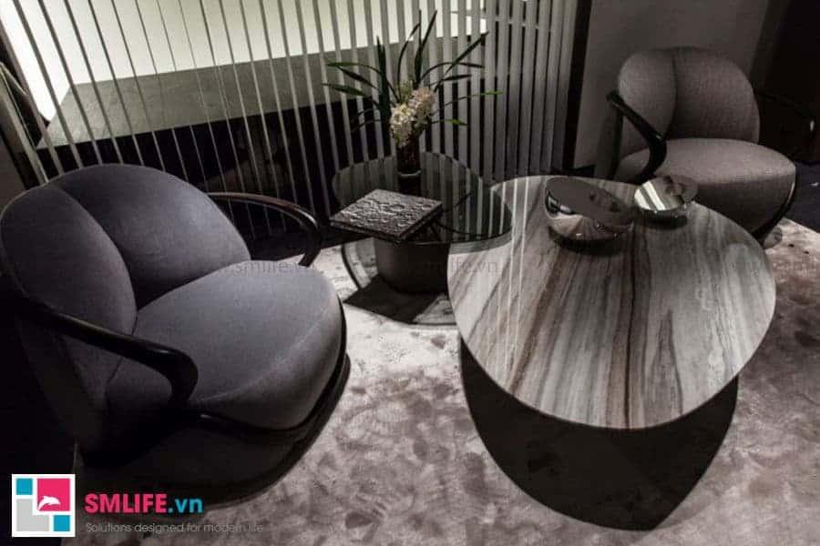 Bàn trà sofa hiện đại đầy sang trọng và cổ điển