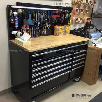 Bàn nguội cơ khí, tủ dụng cụ cao cấp | SMLIFE