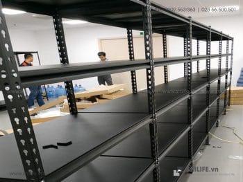 Kệ nhà kho lắp ráp 5 tầng, kệ CSPS đa năng | SMLIFE