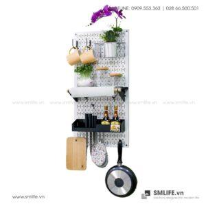 Bảng pegboard nhà bếp S1 SMLIFE