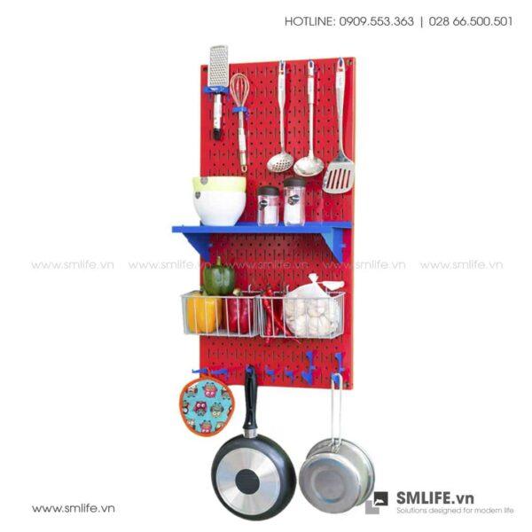 Bảng pegboard nhà bếp S2 SMLIFE