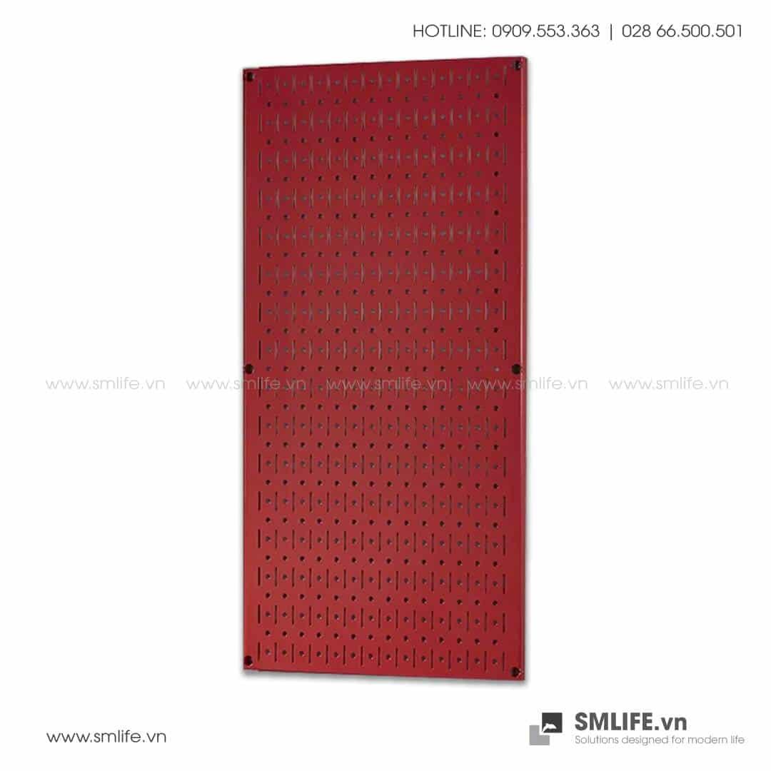 Bảng treo dụng cụ Pegboard đứng 80×40 – Đỏ