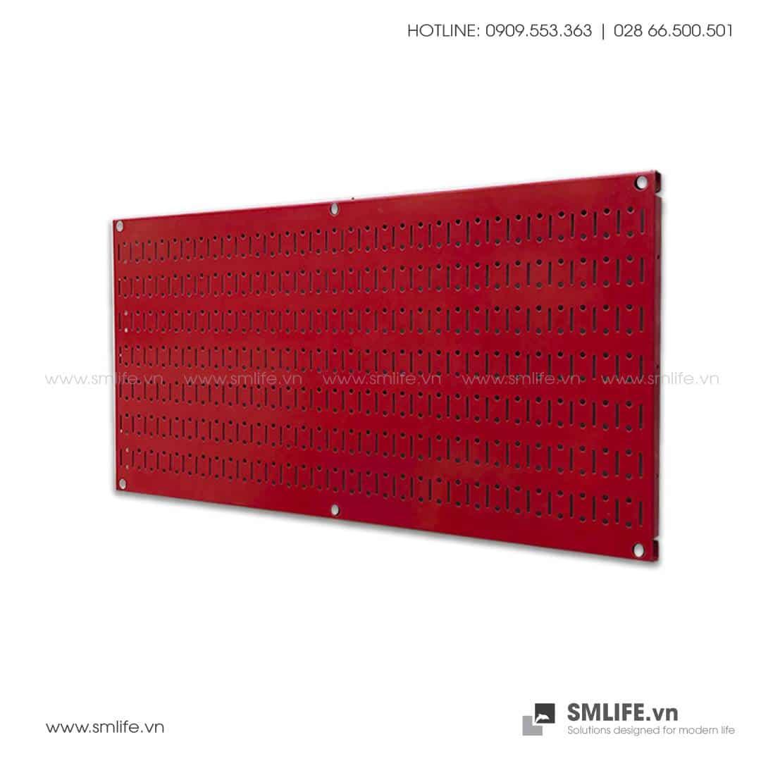 Bảng treo dụng cụ Pegboard Ngang 40×80 – Đỏ