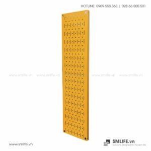 Bảng treo dụng cụ Pegboard đứng 80x20cm Màu Vàng