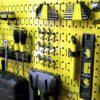Bộ 2 Bảng treo dụng cụ Pegboard đứng 80×40 Màu Vàng