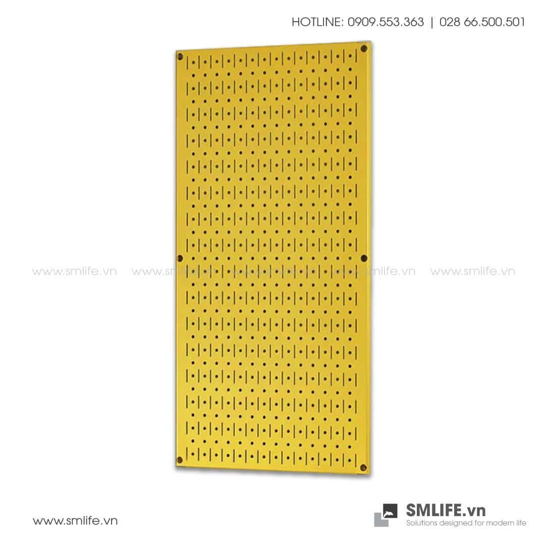 Bảng treo dụng cụ Pegboard đứng 80×40 – Vàng