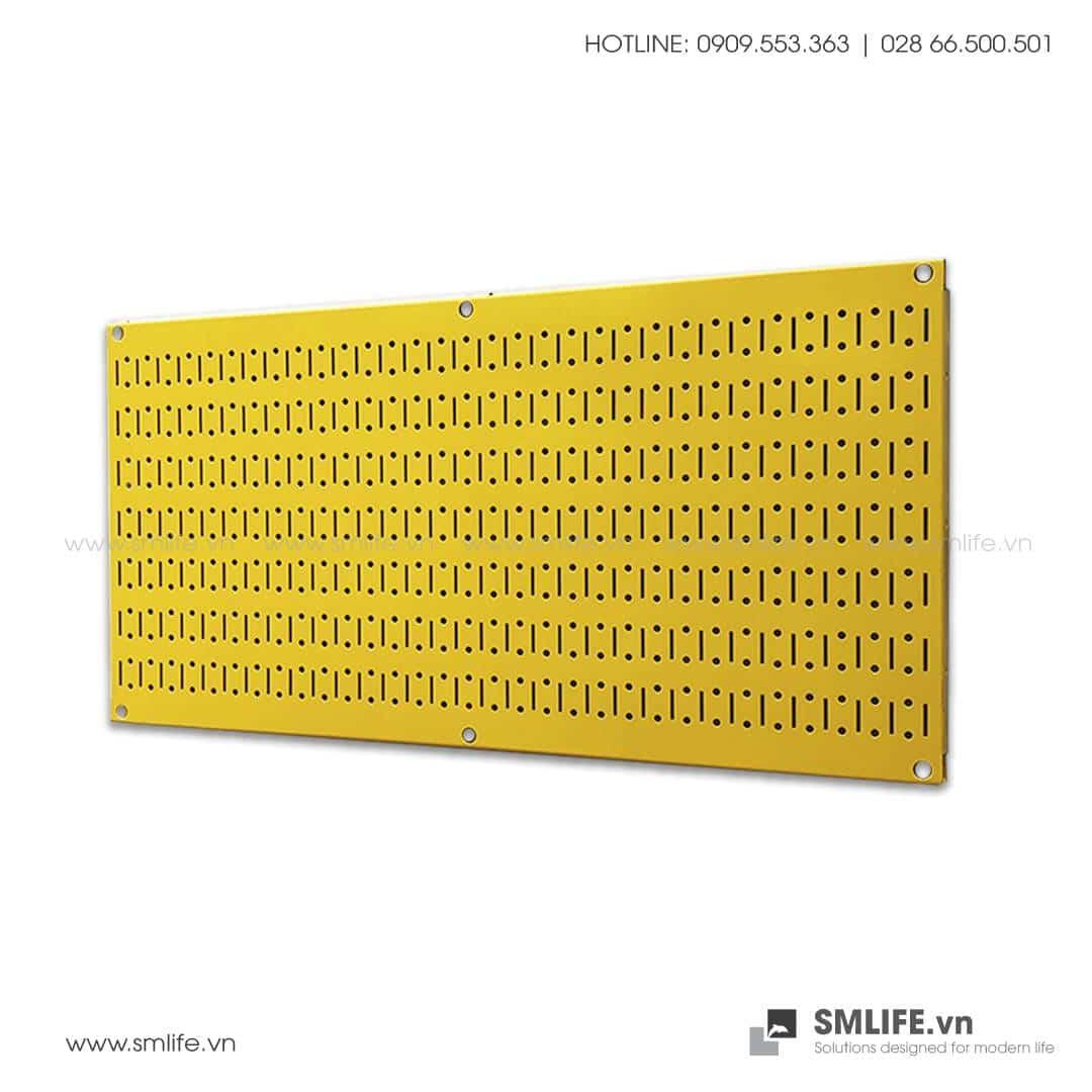Bảng treo dụng cụ Pegboard Ngang 40×80 – Vàng