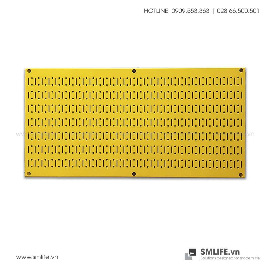 Bảng treo dụng cụ Pegboard ngang 40×80 Màu Vàng