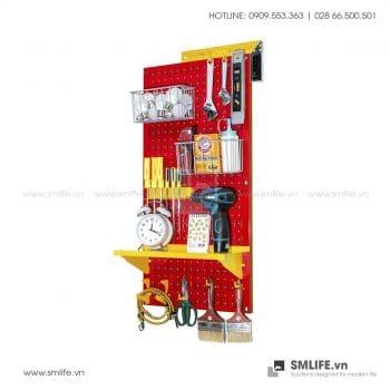 Bảng treo dụng cụ Pegboard cơ khí S2 – Red