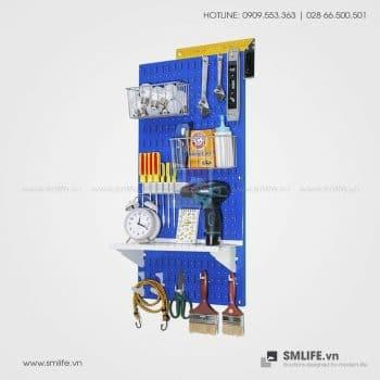 Bảng treo dụng cụ Pegboard cơ khí S2 – Blue