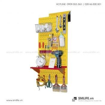 Bảng treo dụng cụ Pegboard cơ khí S2 – Yellow