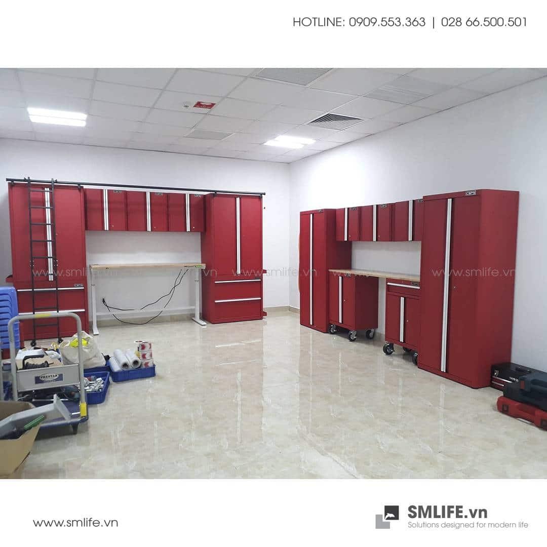 Hệ tủ đựng dụng cụ CSPS cao cấp tại nhà máy VIN FAST | SMLIFE