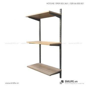 Bộ kệ railshelf 3 tầng kệ SMLIFE
