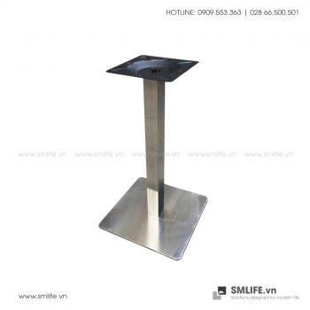 Chân bàn cafe INOX đế vuông C11V