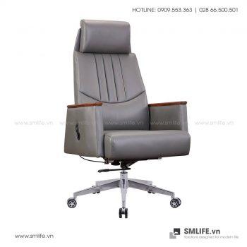 Ghế văn phòng BENTLEY bọc da cao cấp | SMLIFE