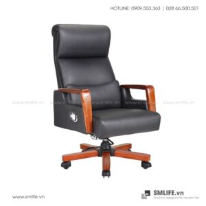 Ghế văn phòng BRENDAN bọc da cao cấp | SMLIFE