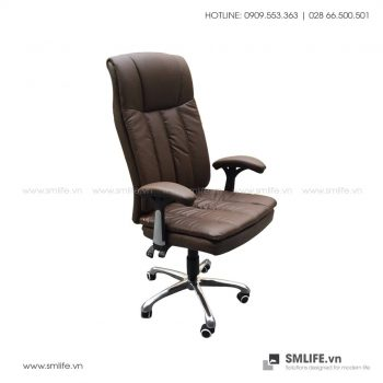 Ghế văn phòng RAHAMUT bọc da cao cấp | SMLIFE
