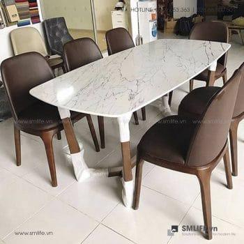 Bộ bàn ăn mặt đá CONCORDE GRACE