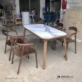 HT - Bộ bàn ăn bằng gỗ KALOTA NEVA (2)