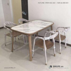 HT - Bộ bàn ăn bằng gỗ KALOTA NEVA (4)