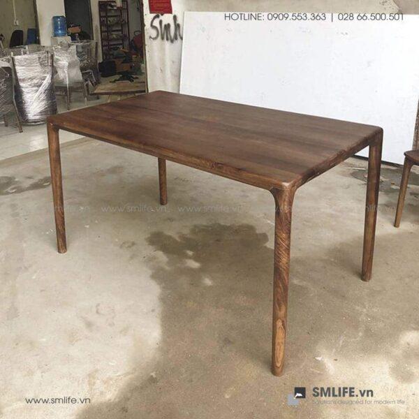 HT - Bộ bàn ăn bằng gỗ LATUS I (4)