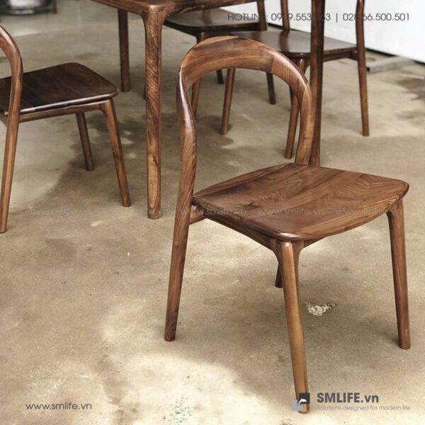 HT - Bộ bàn ăn bằng gỗ LATUS II (3)