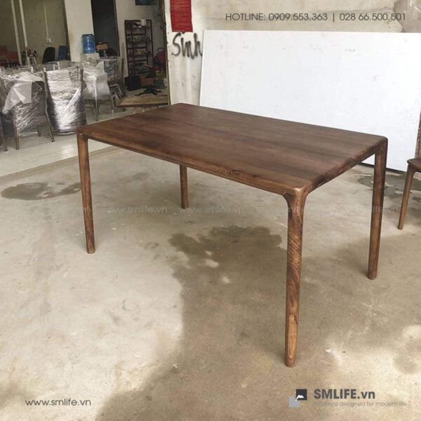 HT - Bộ bàn ăn bằng gỗ LATUS II (4)