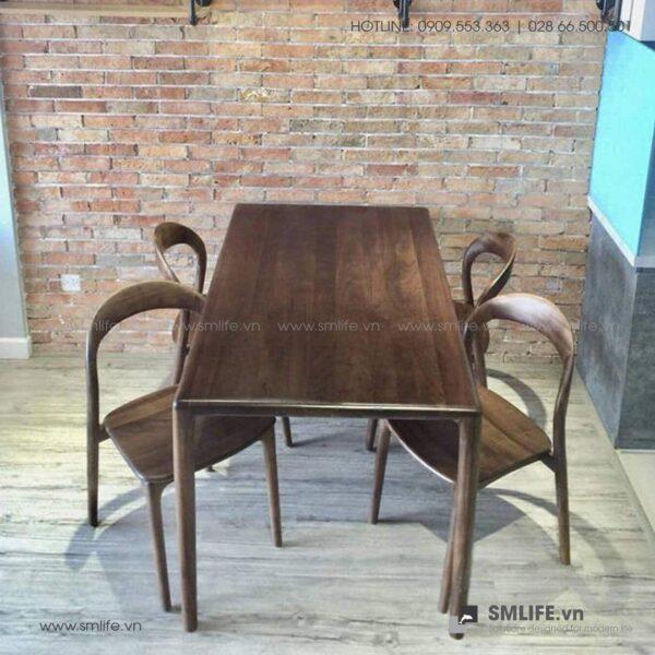 HT - Bộ bàn ăn bằng gỗ LATUS II (9)