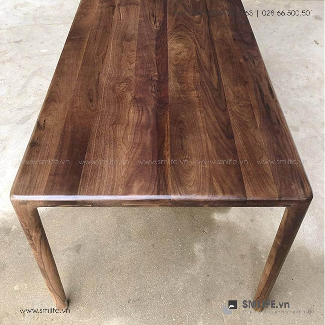 HT - Bộ bàn ăn bằng gỗ LATUS NEVA (1)