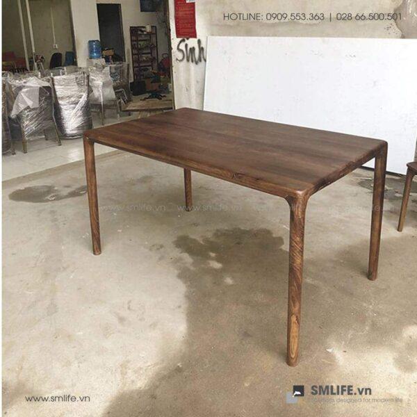 HT - Bộ bàn ăn bằng gỗ LATUS NEVA (4)