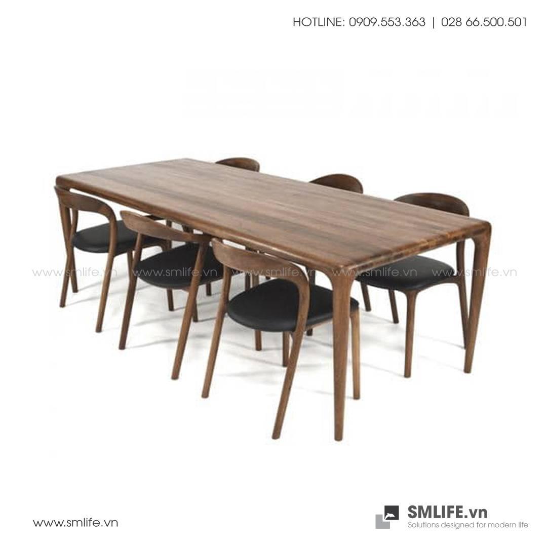HT - Bộ bàn ăn bằng gỗ LATUS NEVA (5)