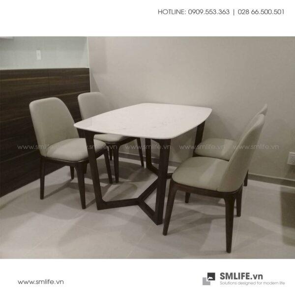 HT - Bộ bàn ăn mặt đá CONCORDE GRACE (10)