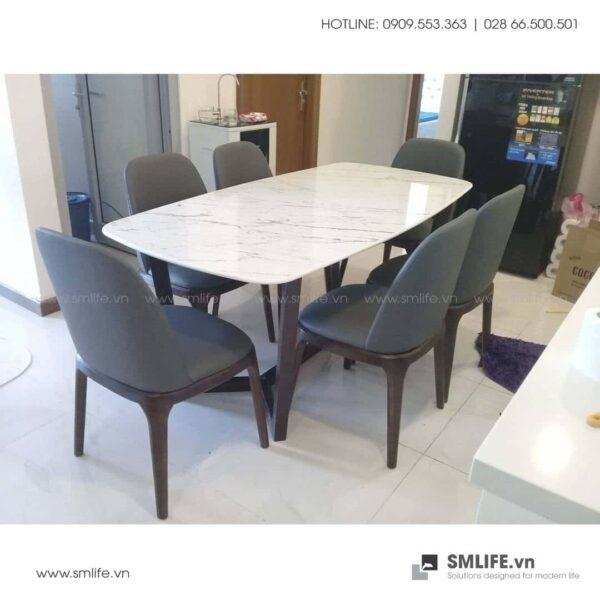 HT - Bộ bàn ăn mặt đá CONCORDE GRACE (11)