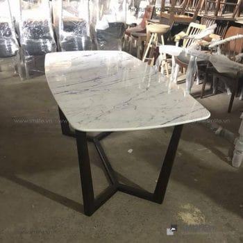 HT - Bộ bàn ăn mặt đá CONCORDE GRACE (12)