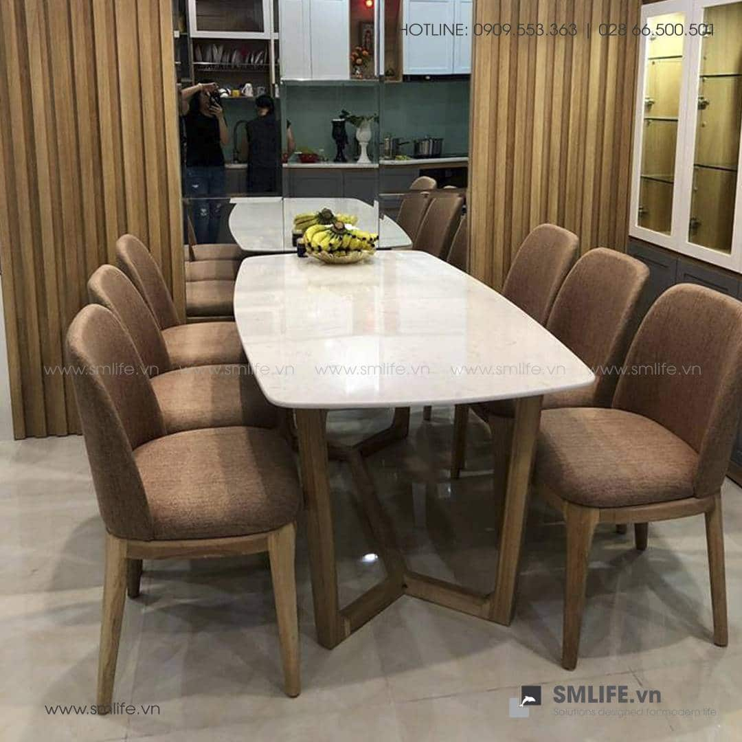 HT - Bộ bàn ăn mặt đá CONCORDE GRACE (13)