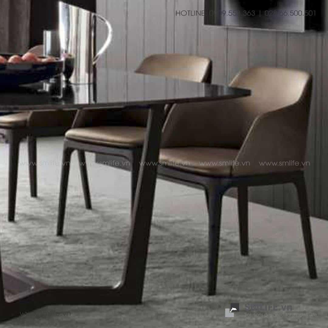 HT - Bộ bàn ăn mặt đá CONCORDE GRACE (4)