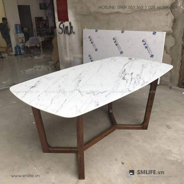 HT - Bộ bàn ăn mặt đá CONCORDE GRACE (6)