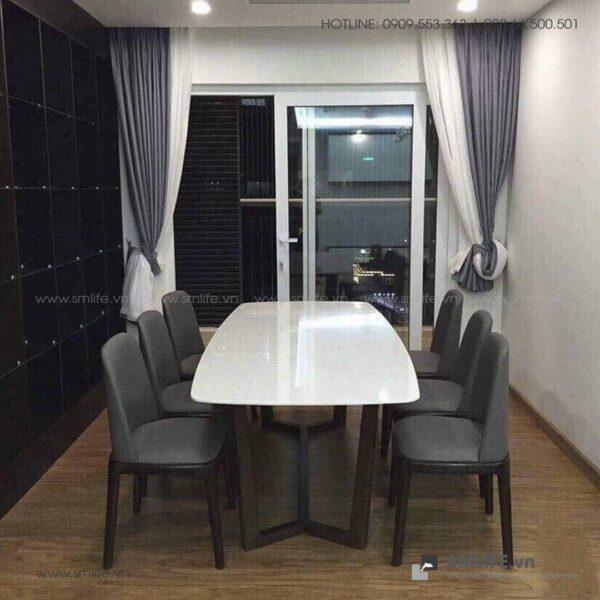 HT - Bộ bàn ăn mặt đá CONCORDE GRACE (7)