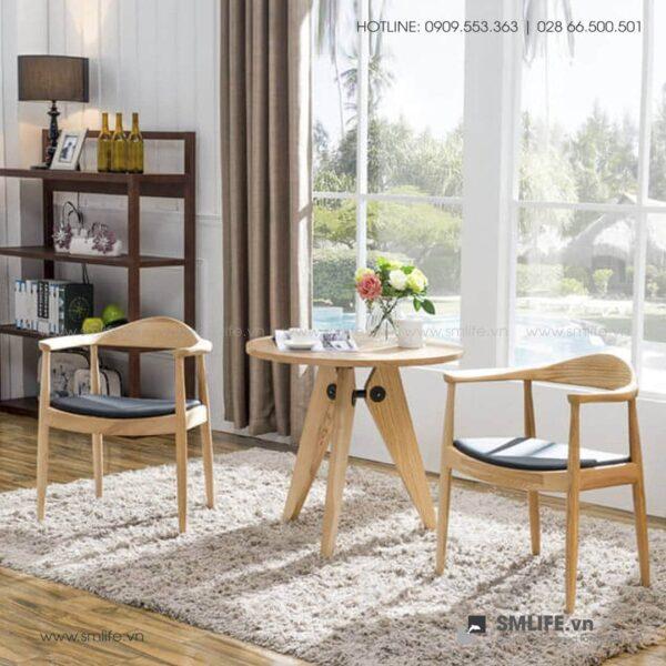 HT - Ghế ăn bằng gỗ KENNEDY (4)
