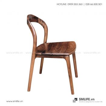 Ghế ăn bằng gỗ NEVA H