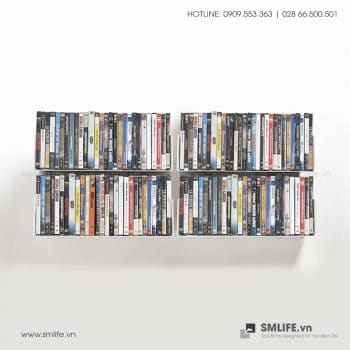 Kệ đĩa CD chữ U 45 (Set 4)