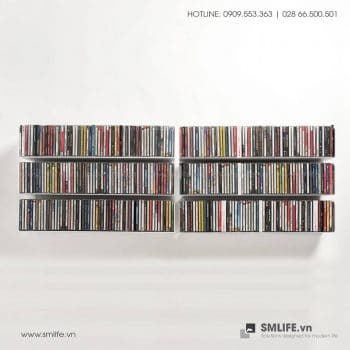 Kệ đĩa CD chữ U 60 (Set 6)