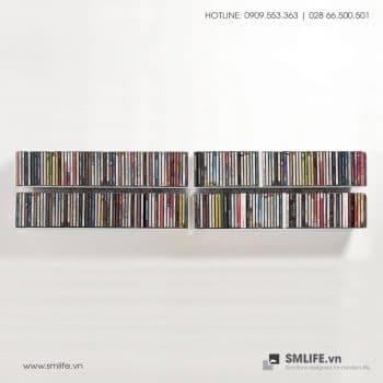 Kệ đĩa CD chữ U 60 (Set 4)